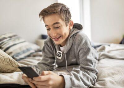 bvhi Einstellungen Hörgerät Smartphone-App