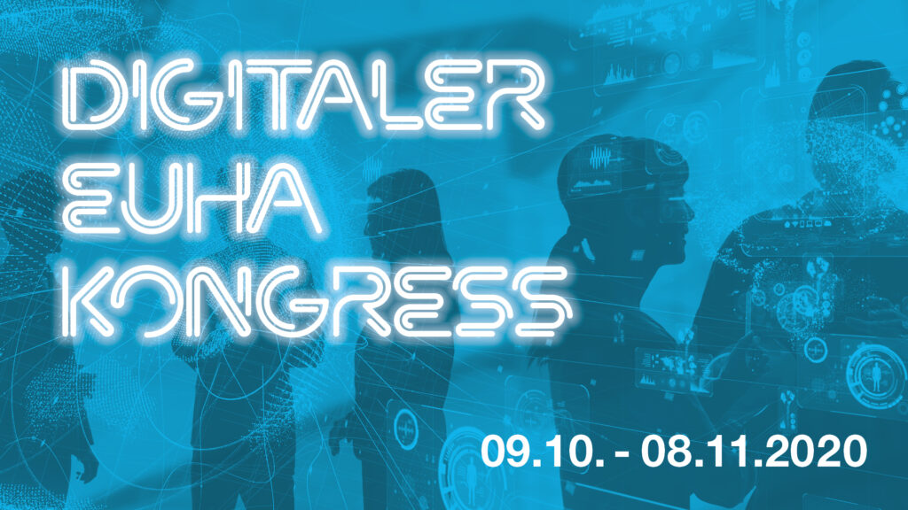 Digitaler EUHA Kongress vom 9. Oktober bis 8. November - Banner