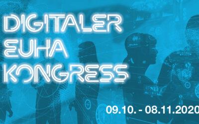Digitaler EUHA-Kongress 2020: Jetzt registrieren!