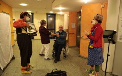 Sondervisite der Clowndoktoren zum Welttag des Hörens